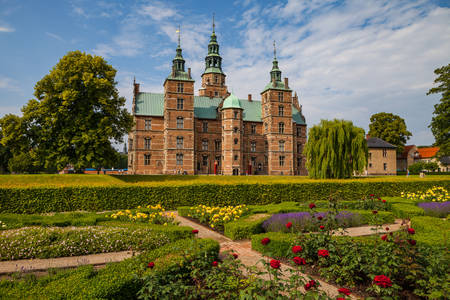 Rosenborg castle, one of many architectural jewels